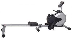 AsVIVA RA11 Rudergerät Ergometer Rower Cardio XI mit 8kg Schwungmasse (inkl. Multifunktionscomputer mit Pulsmessung für das Ausdauertraining zu Hause und klappbar, günstig vom Testsieger)