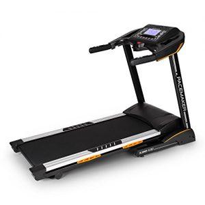 Capital Sports Pacemaker X30 Laufband Profi Heimtrainer (6,5 PS; 22km/h, zusammen-klappbar, gedämpfte Lauffläche, einstellbarer Steigung, 36 Trainingsprogramme) schwarz