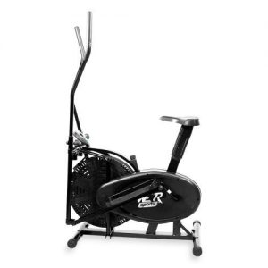 2-IN-1 ELLIPTICAL CROSS TRAINER & EXERCISE BIKE FITNESS CARDIO WORKOUT WITH SEAT
