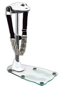 body coach Erwachsene Massagegerät Vibro Massager Deluxe Glas, Weiß, 28789