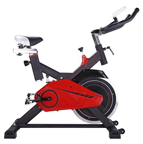 AsVIVA S11 Indoor Cycle Cardio XI mit 14kg Schwungscheibe (inkl. Multifunktionscomputer mit Handpulsmessung sowie Tablet und Smartphone Halterung - günstig vom Testsieger)
