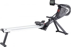 MAXXUS Rudergerät 7.2 – Air-Rower mit Luftwiderstand und Magnetbremssystem. Klappbares Design, ruhiger Lauf. Kugelgelagerte Sitzrollen. Ganzkörpertraining.