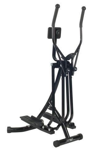 Christopeit Crosstrainer Walker deluxe, schwarz, 81 x 60 x 148