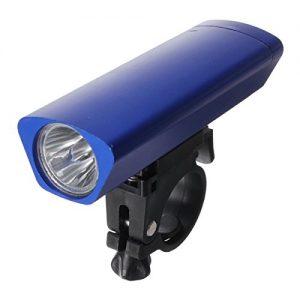 MaMaison007 Wasserdichte Taschenlampe Radfahren Bike Fahrrad Front LED Lampe Scheinwerfer Vorne Scheinwerfer-Blau