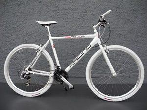 28″ Alu RACING Speed Bike Fitnessbike SHIMANO 21 Gang CROSS Fahrrad white