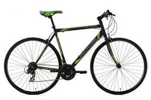 KS Cycling Fitnessbike Piccadilly RH 56 cm Fahrrad, Schwarz-Grün, 28