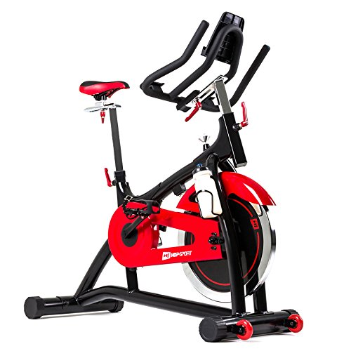 Hop-Sport Indoor Cycle HS-085IC Speed Bike Bluetooth Smartphone Steuerung Google Street View Applikation iBiking+
