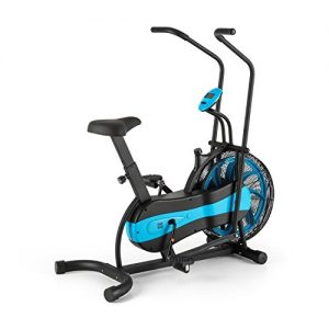 CAPITAL SPORTS Stormstrike 2k Crosstrainer Fahrradergometer inkl. Trainingscomputer (bis 120 kg, Anzeige: Gefahrene Strecke, Trainingszeit, Gesamtstrecke, verbrauchte Kalorien) schwarz