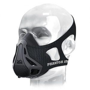 Phantom Athletics Erwachsene Training Mask Trainingsmaske, Schwarz, M