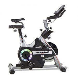 BH Fitness SPADA II DUAL H9355 Indoorbike Indoorcycling – Anschluss von Smartphones/Tablets