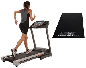 Hammer Fitness SET Laufband LR18i mit Unterlegmatte