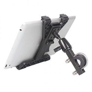 SYSTEM-S Tablet PC Halter Lenker Halterung für Laufband und Heimtrainer im Innenraum