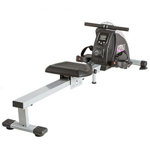TecTake® Rudergerät Ruderzugmaschine Fitnessgerät mit Trainingscomputer