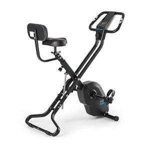 CAPITAL SPORTS Azura X2 X-Bike bis 120 kg Pulsmesser klappbar 4 kg schwarz