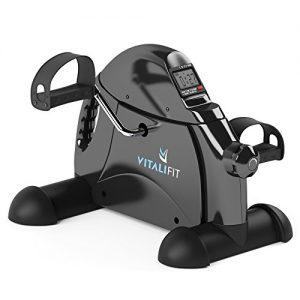 VitaliFit Mini Heimtrainer Pedaltrainer Armtrainer Beintrainer Bewegungstrainer