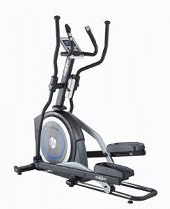 MAXXUS CROSSTRAINER CX 5.1 – Ellipsentrainer und kostenlosem Versand. Elliptischer Bewegungsablauf, Trainingsprogramme, HRC-Programme, Watt-Programm, Transportrollen, elektr. gesteuerte Magnetbremse, Smartphone-Tablet-Halterung, ergonomische Laufbewegung.