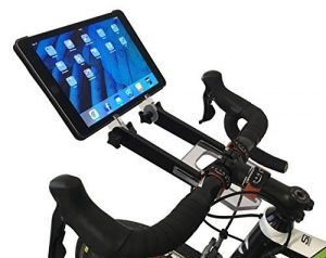 PADBONE Tablethalterung fürs Rollentraining Fahrrad Rennrad Mountainbike Triathlon Zeitfahrrad Rad Intervalltraining Indoorcycling