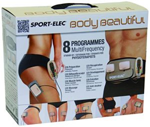 SPORT-ELEC Erwachsene Elektro-Stimmulationsgerät mit Multifonktionsgürtel Body Beautiful, 3528070002085