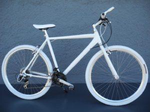 28″ Alu Speed Bike Fitnessbike SHIMANO 21 Gang CROSS Fahrrad weiss