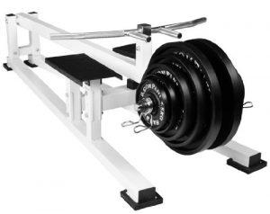 Profi Rudermaschine / T-Bar Rower/ Rücken-Trainer BCA-22
