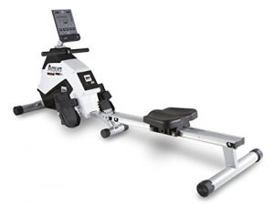 BH Fitness AQUO DUAL + DUAL KIT WR309U Rudergerät, Rudermaschine, Ruderzug, Anschluss von Smartphones/Tablets