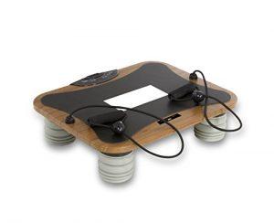 Tecnovita by BH VIBRO QUICK PRO YV14M Vibrationsplatte, Vibrationstrainer, 35 – 50 HZ, 3 Benutzerprogramme