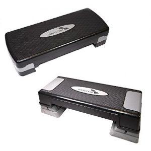 FOURSCOM® Stepper Aerobic Step Stepbench Steppbrett 68x28x10 cm oder 70cmx28cmx12cm