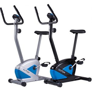 Heimtrainer RX100 Fitnessbike Trimmrad Ergometer Pulsmessung Hometrainer belastbar bis 120 kg