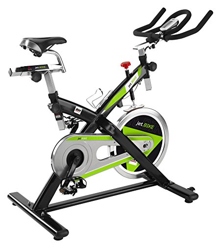 BH Fitness Indoorcycling Jet Bike, Schwarz/Silber, H9161A