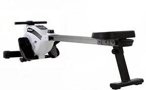 BH Fitness Stanford R301L klappbare Rudermaschine, Ruderzug, Rudergerät; Zentraler Seilzug, Magnetisches Bremssystem