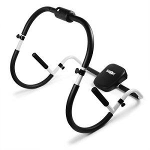 Klarfit MOBI-Basic-20 Fitnessbike Heimtrainer Ergometer (Tretsystem: 6kg Schwungrad mit magnetischem Bremssystem, stufenlos einstellbarer Widerstand, Trainingscomputer, belastbar bis 100kg) silber-schwarz