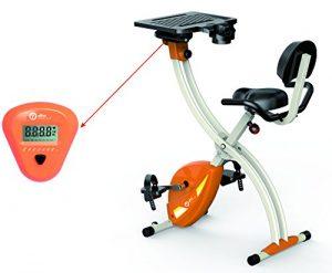 Buro Fitness FitBike-2 Workstation | Fitnessbike | Fitness fahrrad Heimtrainer Ergometer Indoorcycling…