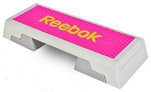 Reebok Color Line Step Steppbrett Stepper Fitness Workout inkl. DVD magenta