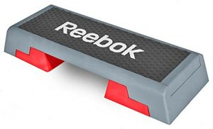 Reebok Step schwarz rot Stepper Steppbrett Step Aerobic Fitness