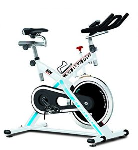 BH Fitness Indoorcycling Jet Bike Pro, Weiß/Rot, H9172A