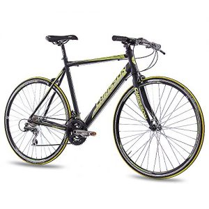 28″ Zoll Rennrad Fitnessrad CHRISSON AIRWICK 2015 mit 24G ACERA schwarz