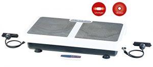 PEARL Extra breite Vibrationsplatte WBV-199.OE mit Expandern