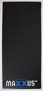 MAXXUS Bodenschutzmatte für Rudergeräte, Läufbänder und Crosstrainer 2,40 x 1m x 5mm in extra schwerer Ausführung