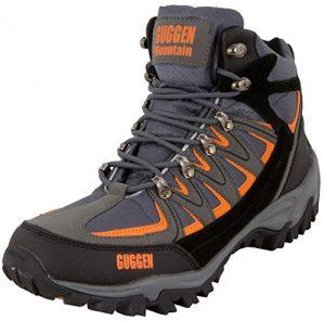 GUGGEN MOUNTAIN, Bergschuhe Bergstiefel Wanderschuhe Wanderstiefel Mountain Boots Trekkingschuhe mit echtem Leder