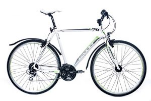 Leader Action 2.0 28 Zoll Cross-/Fitnessbike Weiß (2017)
