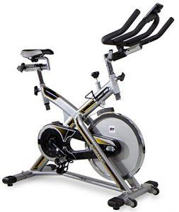 BH Fitness MKT JET BIKE PRO H9162RF, Indoorbike, Indoorcycling, PolyV-Riemen, 20 kg Schwunggewicht , Reibungssystem, Ideal für Anfänger mit dem indoor cycling