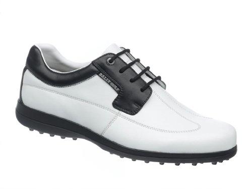 Bally Herren Golf Schuh Step weiß/schwarz