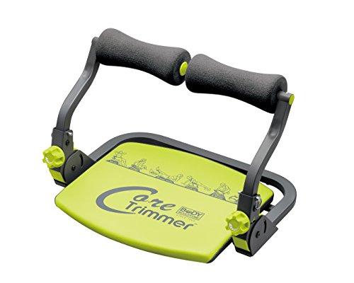 Body Sculpture Core Trimmer 28518, 6in1 Fitnessgerät, Bauchtrainer Beintrainer Rückentrainer und Schultertrainer in einem, idealer Muskeltrainer für Zuhause – bis 120kg – klappbar inkl. DVD