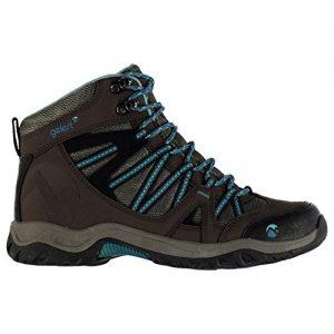 Gelert Damen Ottawa Mid Wanderstiefel Wanderschuhe Trekking Stiefel Outdoor Boots