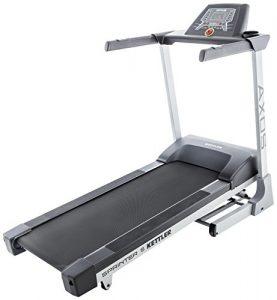 Kettler Laufband Sprinter 5 – effektiver Cardiotrainer – Farbe: silber, schwarz – professionelles Fitnessgerät – Artikelnummer: 07880-200