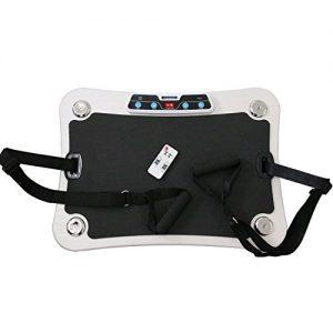 AsVIVA V8 Vibrationsplatte Vibrationstrainer mit Long-Life Motor – Dämpfung durch Ring-Elastomere und Rutschfeste Trainingsfläche