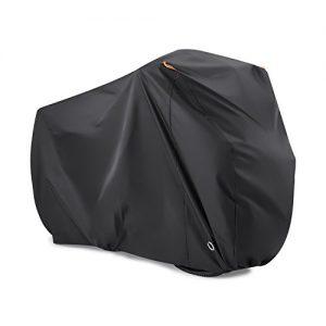Fahrradabdeckung für 2 Fahrräder, Beeway® 190T Nylon Fahrradschutzhülle Wasserdicht Anti Staub Regen UV Schutz für Mountainbike Rennrad