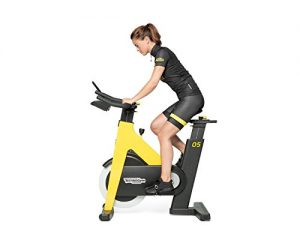 Technogym Group Cycle Connect gelb, Indoor Cycling Bike mit Workout-Tracking