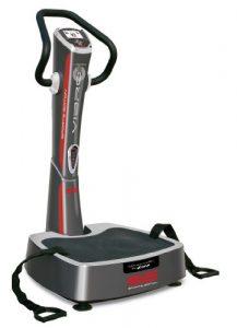 BH Fitness Vibrationsplatte YV20RS Vibro GS, grau-silber, 70 x 70 x 134 cm, YV20RS