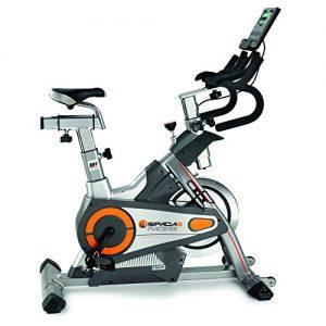 BH Fitness i.SPADA 2 RACING H9356I Indoorbike – Indoorcycling – 3-faches Bremssystem – Android/Apple kompatibel